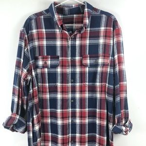 Tops - Vintage Oversized Flannel, Large
